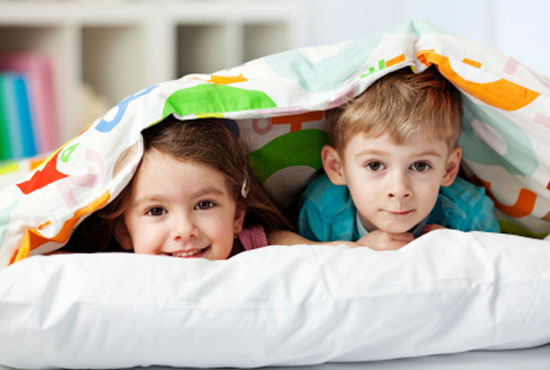 Όταν τα παιδιά πρέπει να μοιραστούν το ίδιο δωμάτιο
